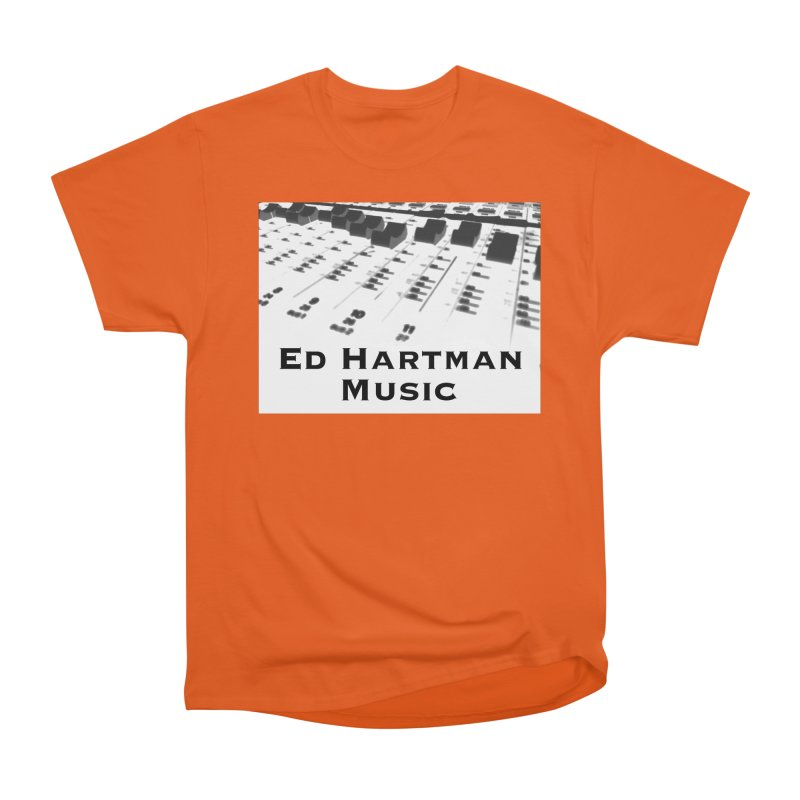 Ed Hartman Music LOGO Women's Heavyweight Unisex T-Shirt by EdHartmanMusic Swag Shop!