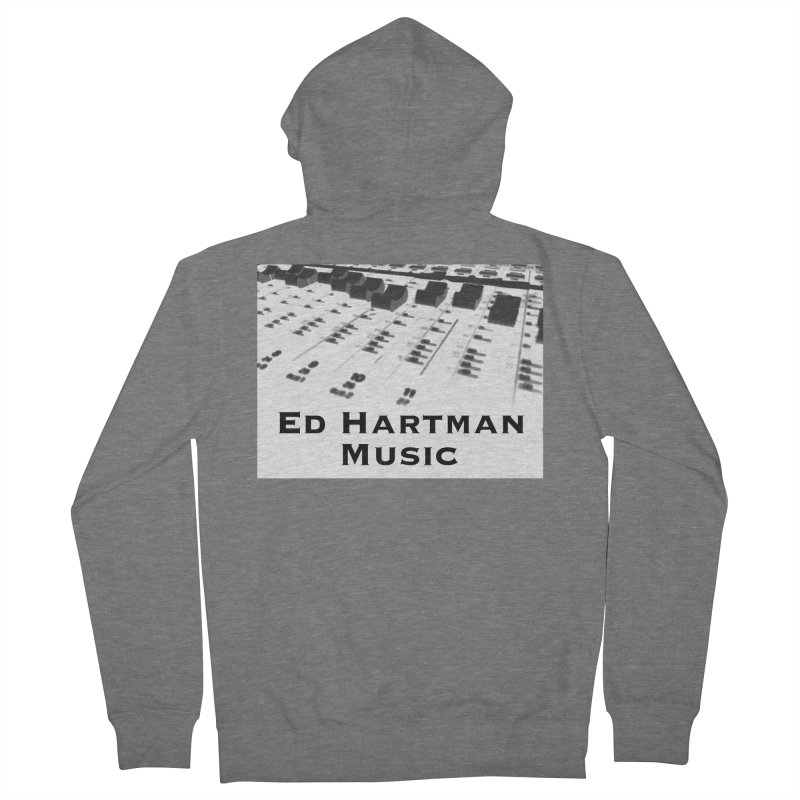 Ed Hartman Music LOGO Women's Zip-Up Hoody by EdHartmanMusic Swag Shop!