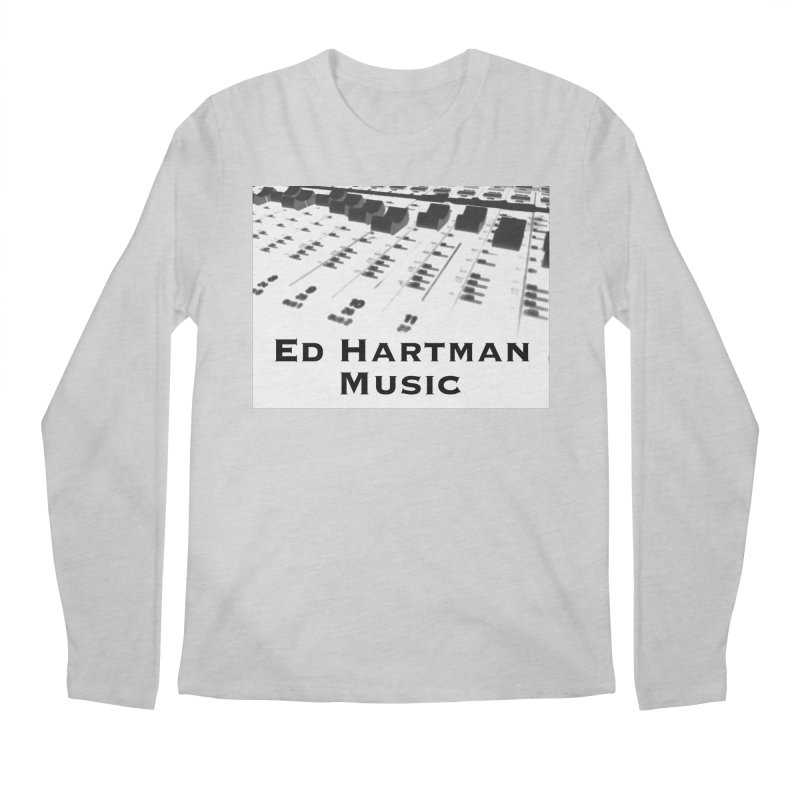 Ed Hartman Music LOGO Men's Regular Longsleeve T-Shirt by EdHartmanMusic Swag Shop!