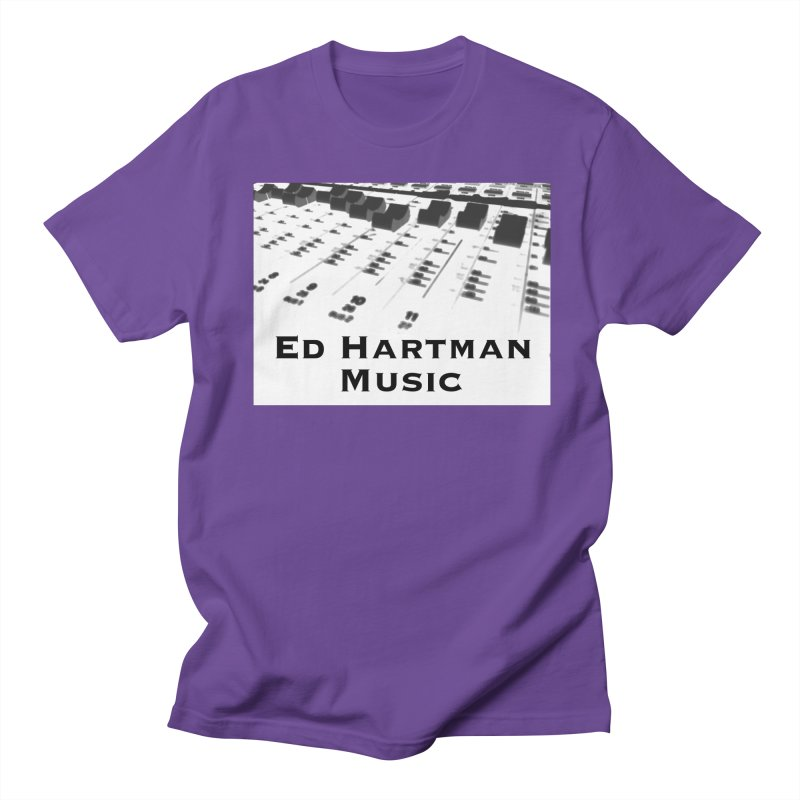 Ed Hartman Music LOGO Men's Regular T-Shirt by EdHartmanMusic Swag Shop!