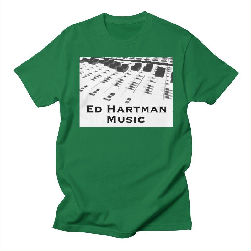 Ed Hartman Music LOGO Men's Regular T-Shirt by EdHartmanMusic Swag Shop!