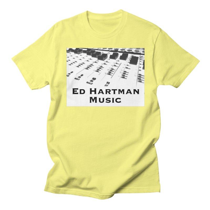 Ed Hartman Music LOGO Men's T-Shirt by EdHartmanMusic Swag Shop!