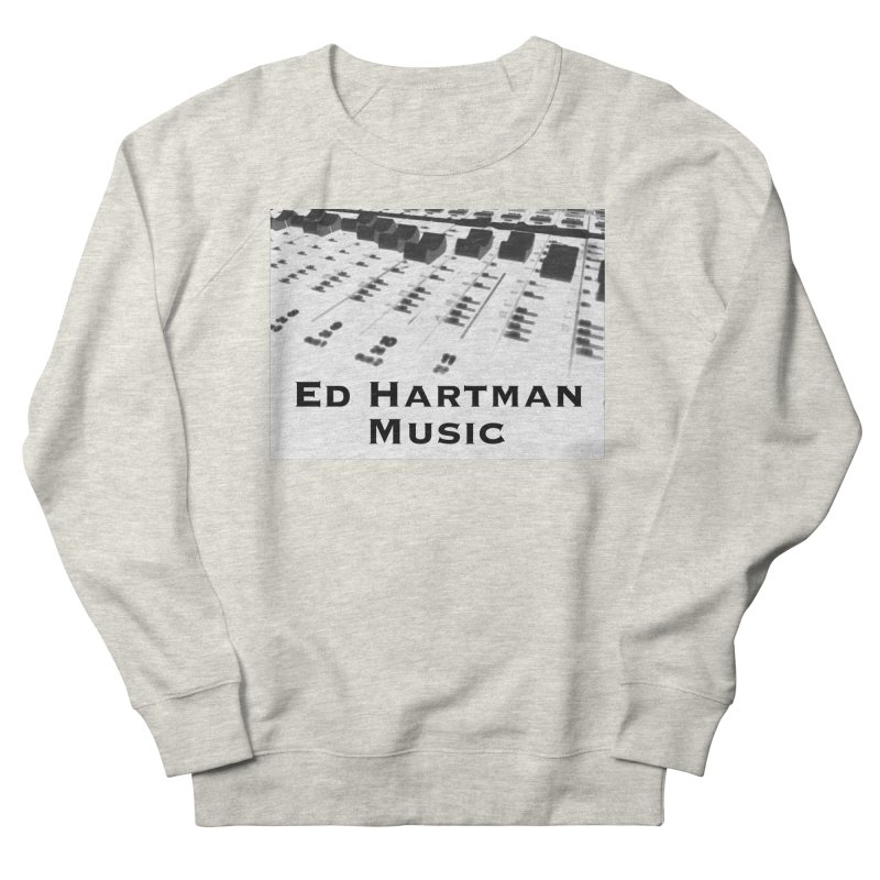 Ed Hartman Music LOGO Women's French Terry Sweatshirt by EdHartmanMusic Swag Shop!