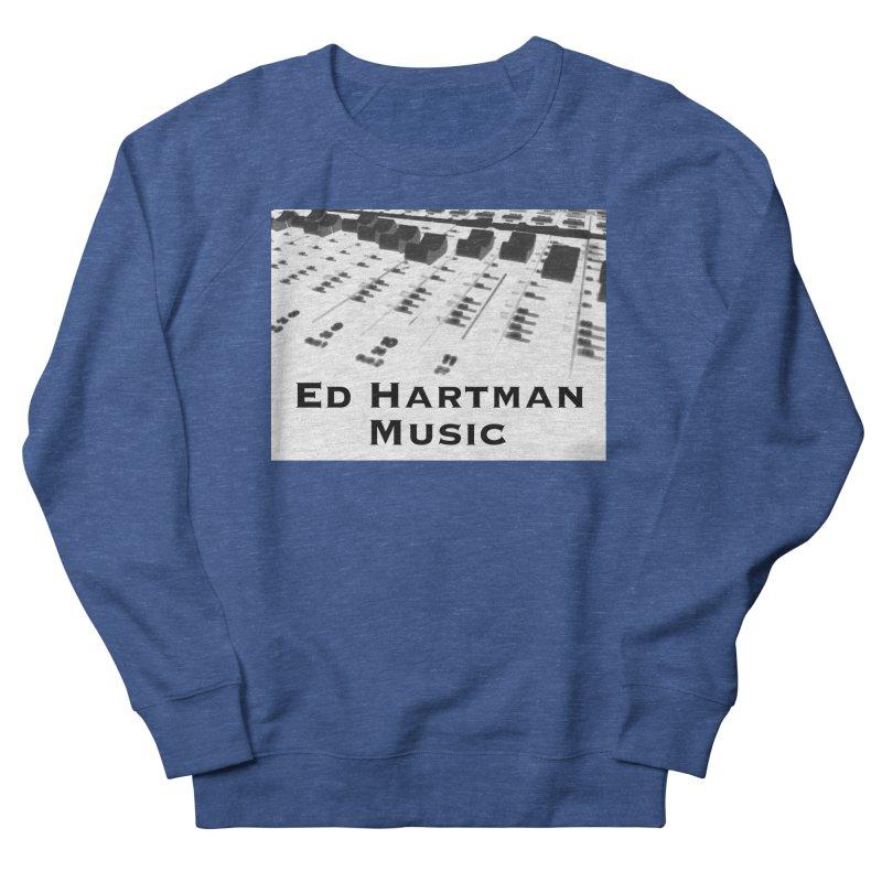 Ed Hartman Music LOGO Men's French Terry Sweatshirt by EdHartmanMusic Swag Shop!
