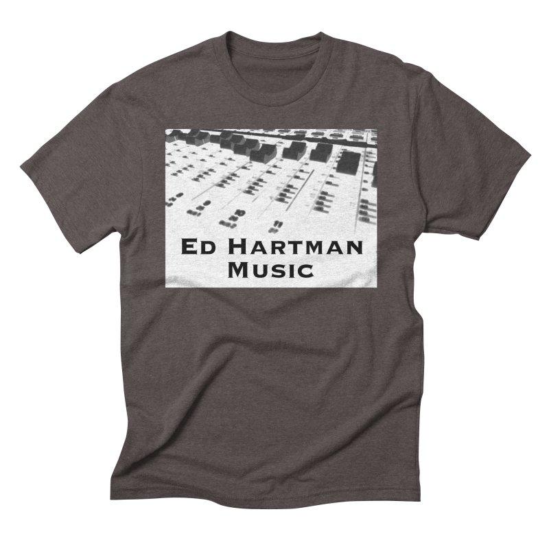 Ed Hartman Music LOGO Men's Triblend T-Shirt by EdHartmanMusic Swag Shop!