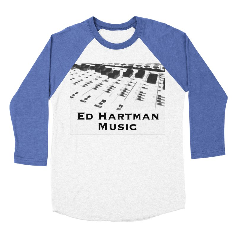 Ed Hartman Music LOGO Men's Baseball Triblend Longsleeve T-Shirt by EdHartmanMusic Swag Shop!