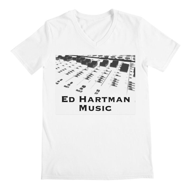 Ed Hartman Music LOGO Men's Regular V-Neck by EdHartmanMusic Swag Shop!