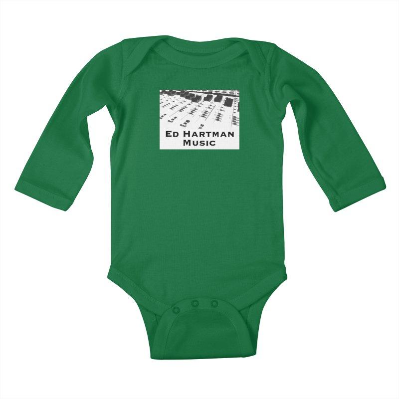 Ed Hartman Music LOGO Kids Baby Longsleeve Bodysuit by EdHartmanMusic Swag Shop!