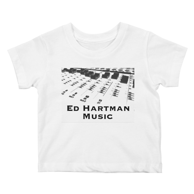 Ed Hartman Music LOGO Kids Baby T-Shirt by EdHartmanMusic Swag Shop!