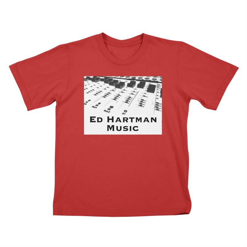 Ed Hartman Music LOGO Kids T-Shirt by EdHartmanMusic Swag Shop!