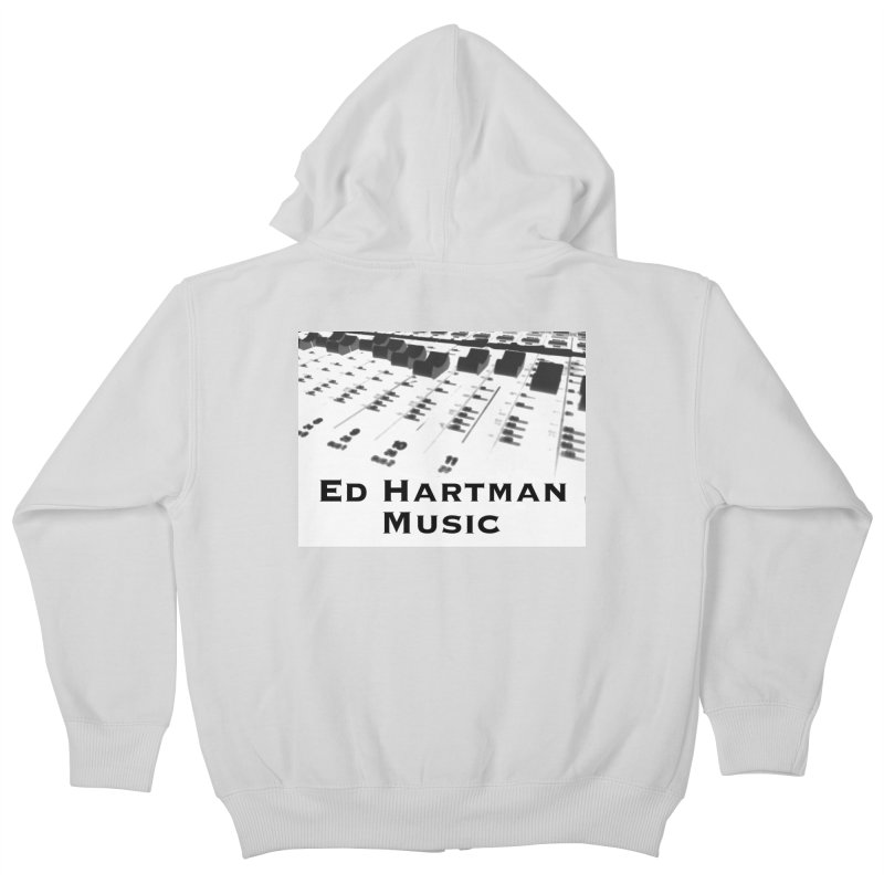 Ed Hartman Music LOGO Kids Zip-Up Hoody by EdHartmanMusic Swag Shop!