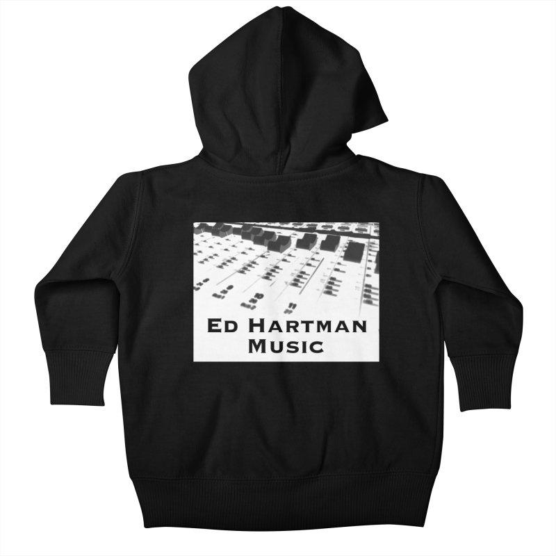 Ed Hartman Music LOGO Kids Baby Zip-Up Hoody by EdHartmanMusic Swag Shop!
