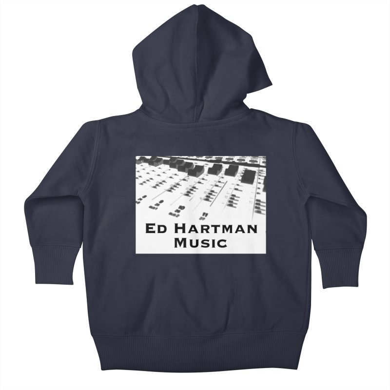 Ed Hartman Music LOGO Kids Baby Zip-Up Hoody by EdHartmanMusic Swag Shop!