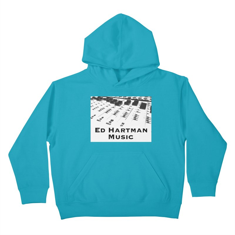 Ed Hartman Music LOGO Kids Pullover Hoody by EdHartmanMusic Swag Shop!