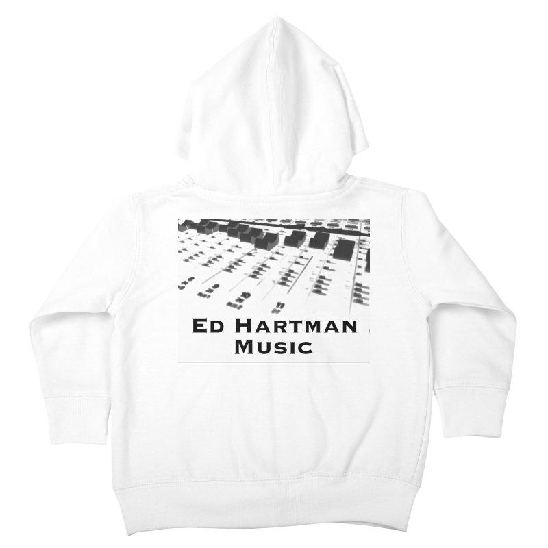 Ed Hartman Music LOGO Kids Toddler Zip-Up Hoody by EdHartmanMusic Swag Shop!
