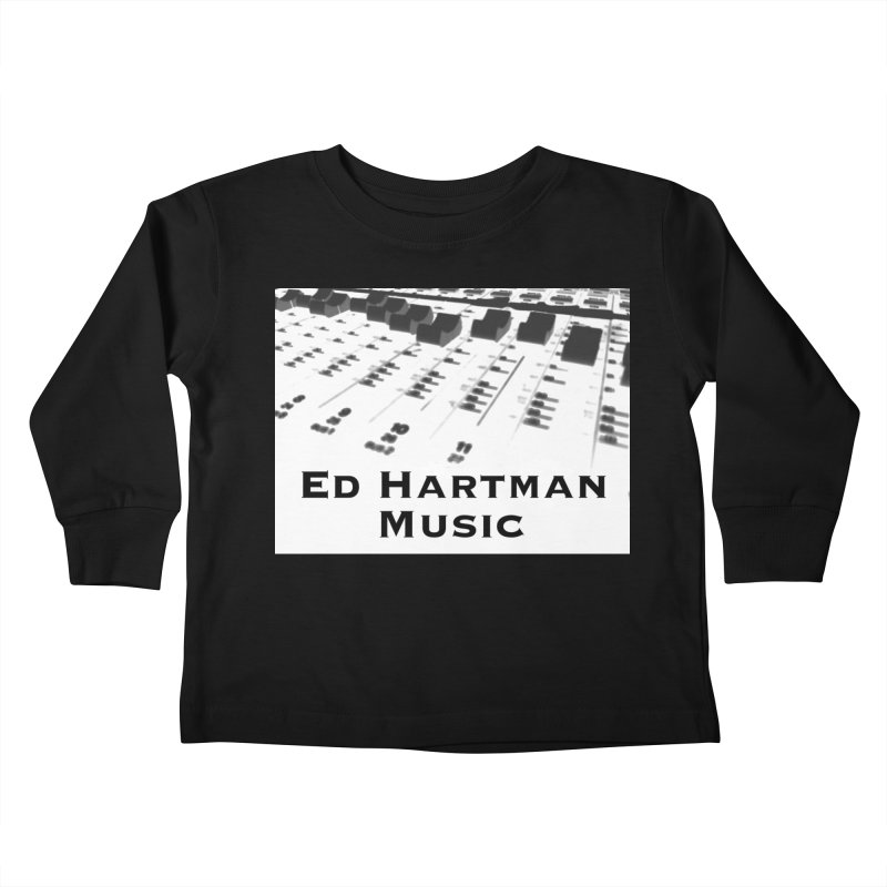 Ed Hartman Music LOGO Kids Toddler Longsleeve T-Shirt by EdHartmanMusic Swag Shop!