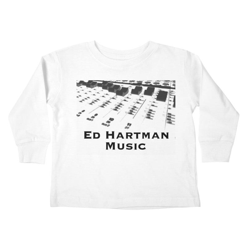 Ed Hartman Music LOGO Kids Toddler Longsleeve T-Shirt by EdHartmanMusic Swag Shop!