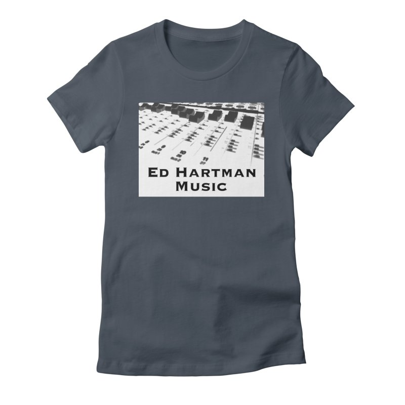 Ed Hartman Music LOGO Women's T-Shirt by EdHartmanMusic Swag Shop!