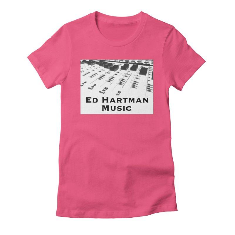 Ed Hartman Music LOGO Women's T-Shirt by EdHartmanMusic Swag Shop!
