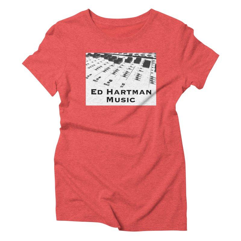 Ed Hartman Music LOGO Women's Triblend T-Shirt by EdHartmanMusic Swag Shop!