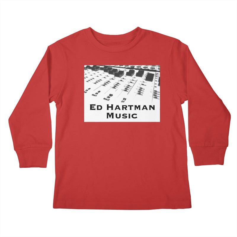 Ed Hartman Music LOGO Kids Longsleeve T-Shirt by EdHartmanMusic Swag Shop!