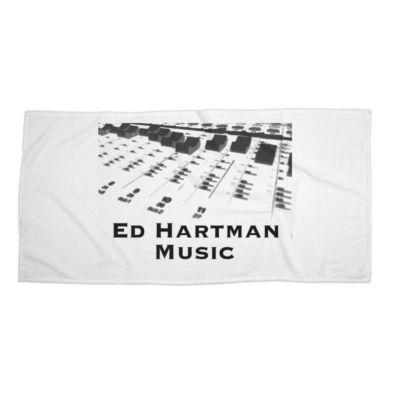 Ed Hartman Music LOGO Accessories Beach Towel by EdHartmanMusic Swag Shop!