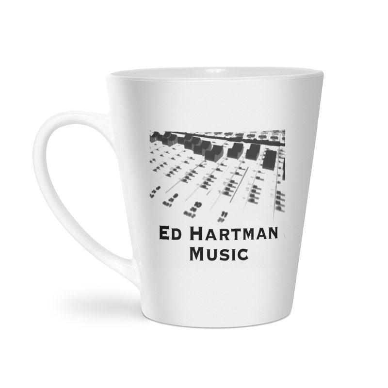 Ed Hartman Music LOGO Accessories Latte Mug by EdHartmanMusic Swag Shop!