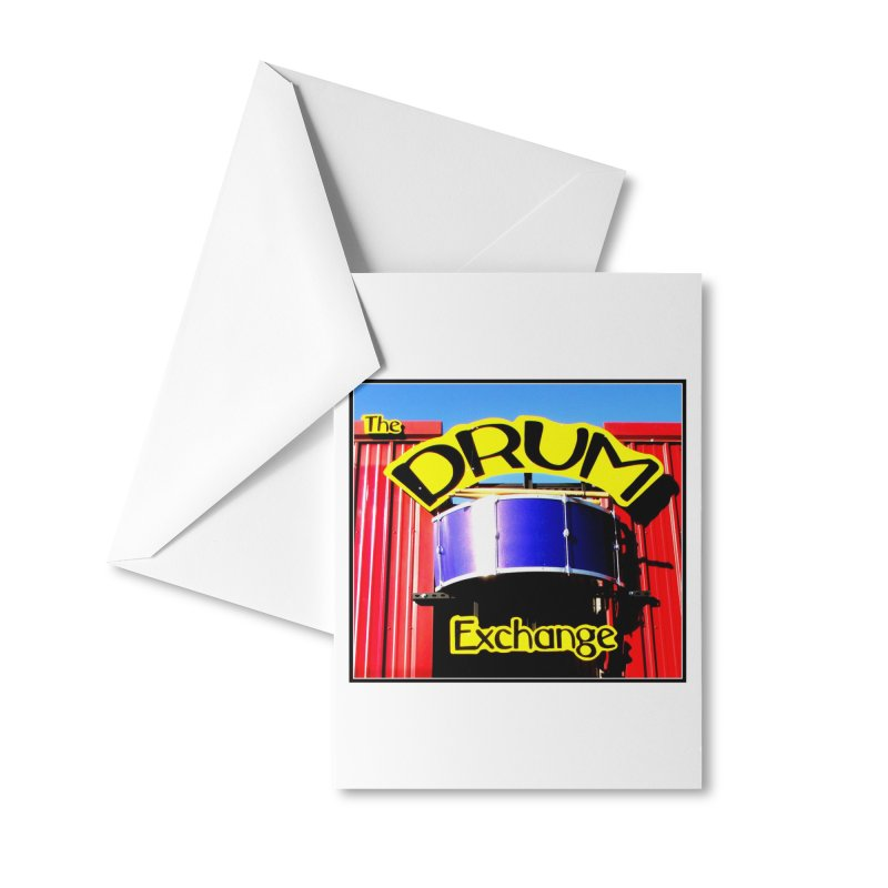 Drum Exchange Sign Accessories Greeting Card by EdHartmanMusic Swag Shop!