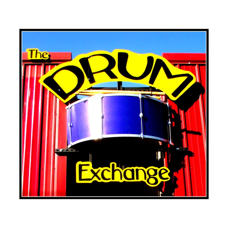 Drum Exchange Sign Accessories Notebook by EdHartmanMusic Swag Shop!