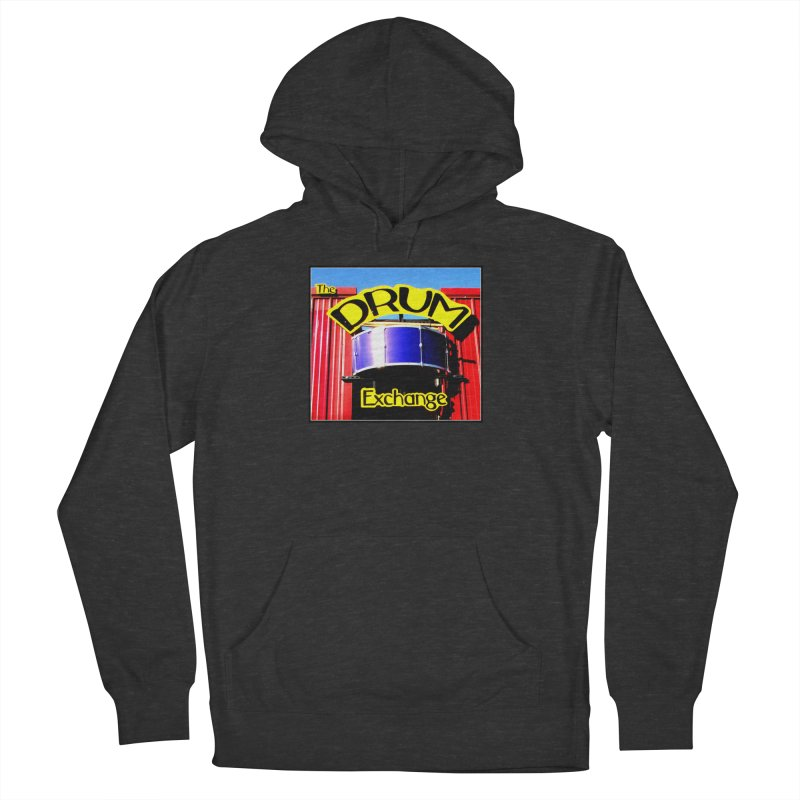 Drum Exchange Sign Women's French Terry Pullover Hoody by EdHartmanMusic Swag Shop!