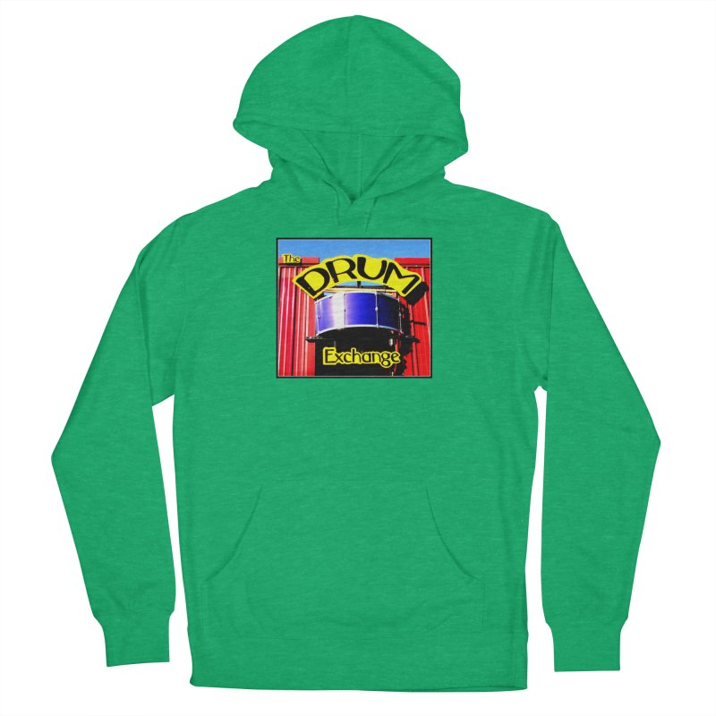 Drum Exchange Sign Men's French Terry Pullover Hoody by EdHartmanMusic Swag Shop!
