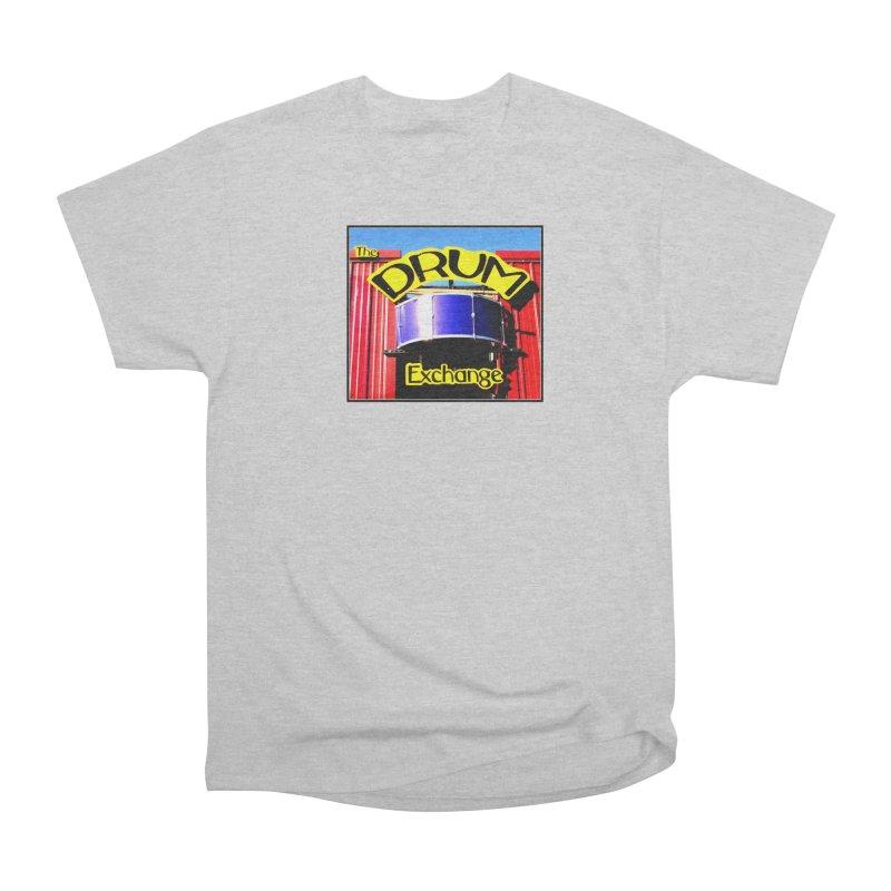 Drum Exchange Sign Women's Classic Unisex T-Shirt by EdHartmanMusic Swag Shop!