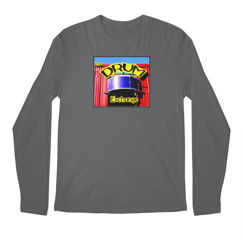 Drum Exchange Sign Men's Longsleeve T-Shirt by EdHartmanMusic Swag Shop!