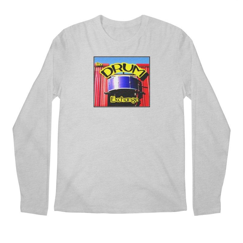 Drum Exchange Sign Men's Regular Longsleeve T-Shirt by EdHartmanMusic Swag Shop!