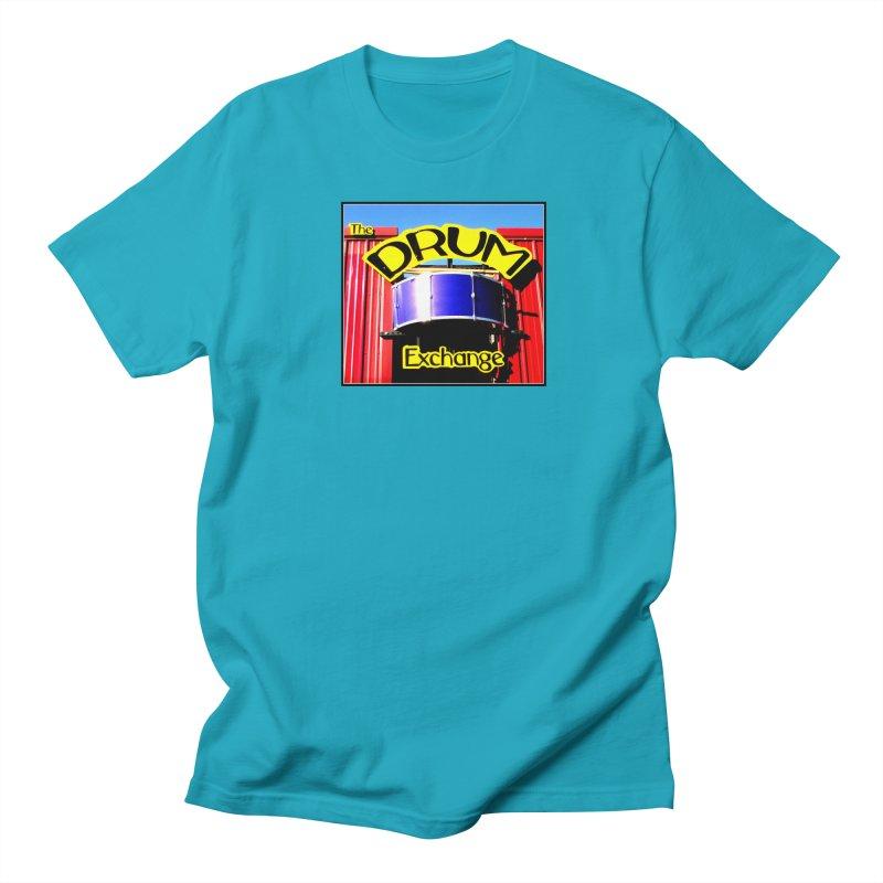 Drum Exchange Sign Men's Regular T-Shirt by EdHartmanMusic Swag Shop!