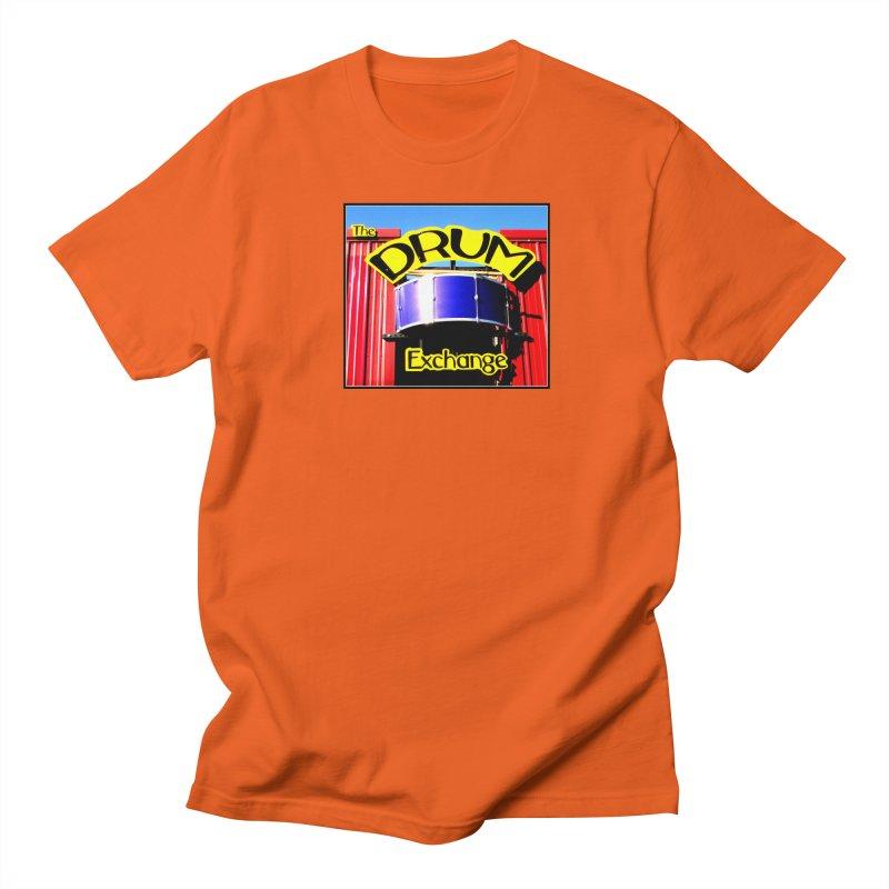 Drum Exchange Sign Women's Regular Unisex T-Shirt by EdHartmanMusic Swag Shop!
