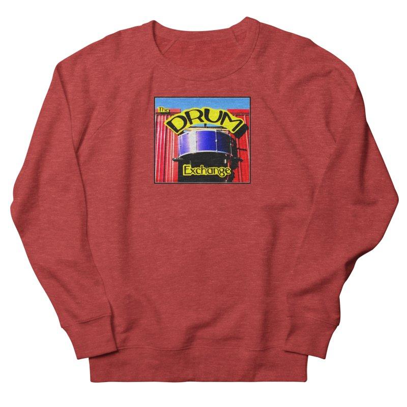 Drum Exchange Sign Women's French Terry Sweatshirt by EdHartmanMusic Swag Shop!