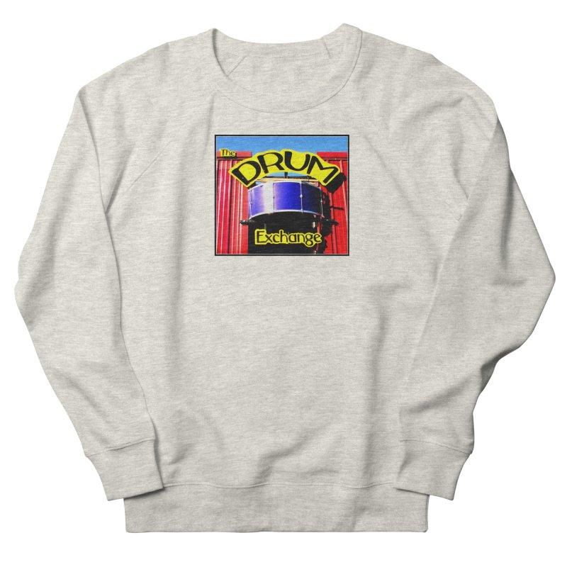 Drum Exchange Sign Men's French Terry Sweatshirt by EdHartmanMusic Swag Shop!