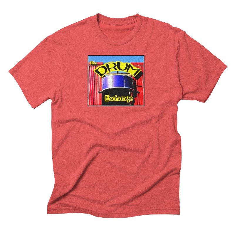 Drum Exchange Sign Men's Triblend T-Shirt by EdHartmanMusic Swag Shop!