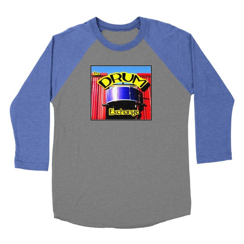 Drum Exchange Sign Women's Baseball Triblend T-Shirt by EdHartmanMusic Swag Shop!