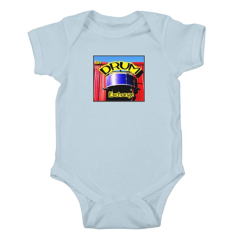 Drum Exchange Sign Kids Baby Bodysuit by EdHartmanMusic Swag Shop!