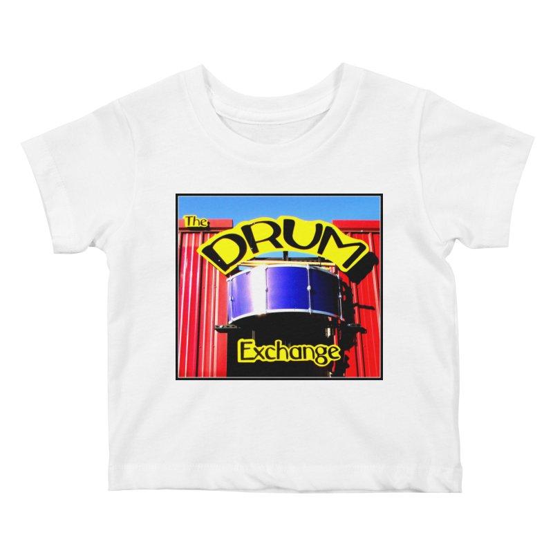Drum Exchange Sign Kids Baby T-Shirt by EdHartmanMusic Swag Shop!