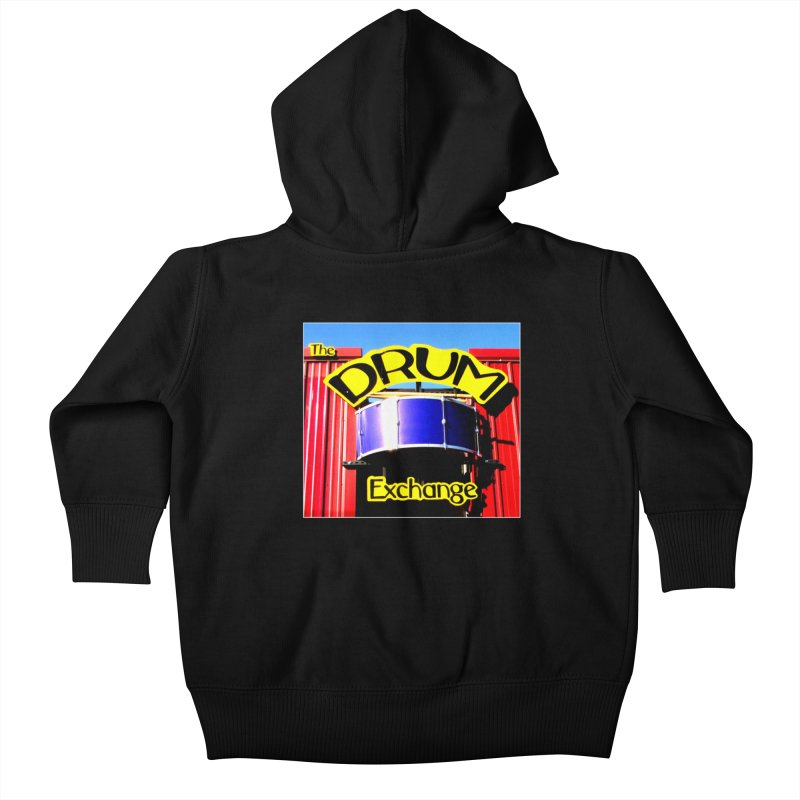 Drum Exchange Sign Kids Baby Zip-Up Hoody by EdHartmanMusic Swag Shop!