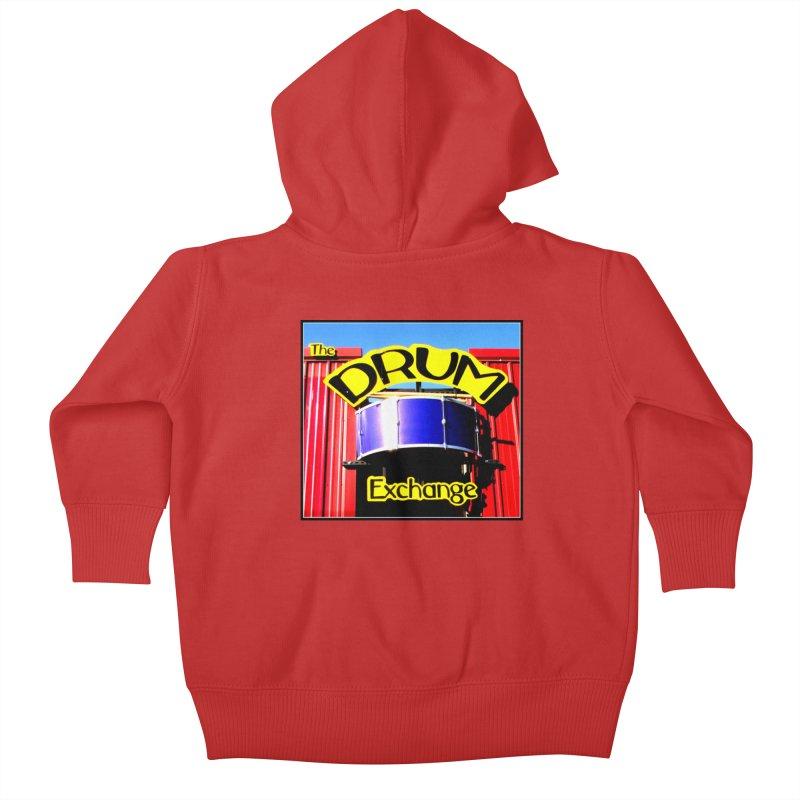 Drum Exchange Sign Kids Baby Zip-Up Hoody by EdHartmanMusic Swag Shop!