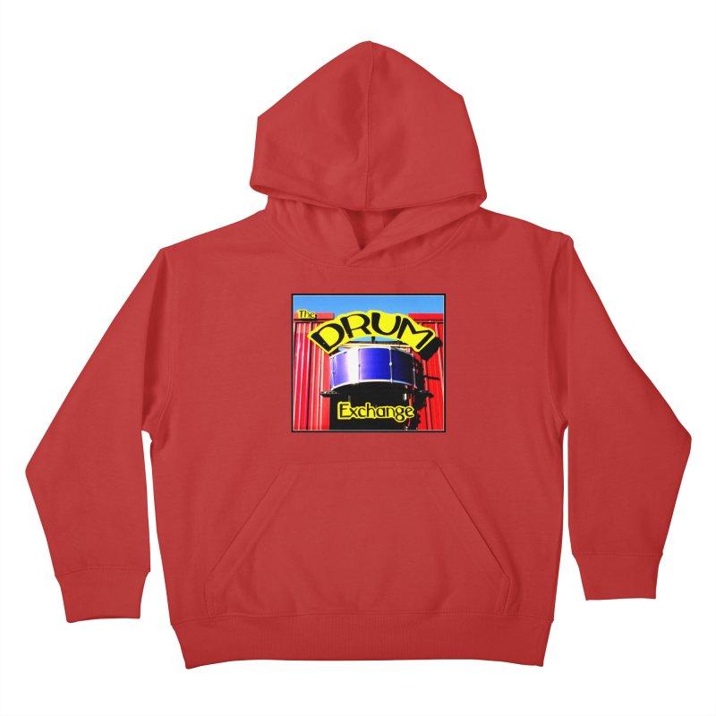 Drum Exchange Sign Kids Pullover Hoody by EdHartmanMusic Swag Shop!