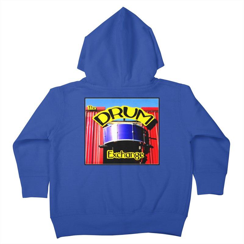 Drum Exchange Sign Kids Toddler Zip-Up Hoody by EdHartmanMusic Swag Shop!