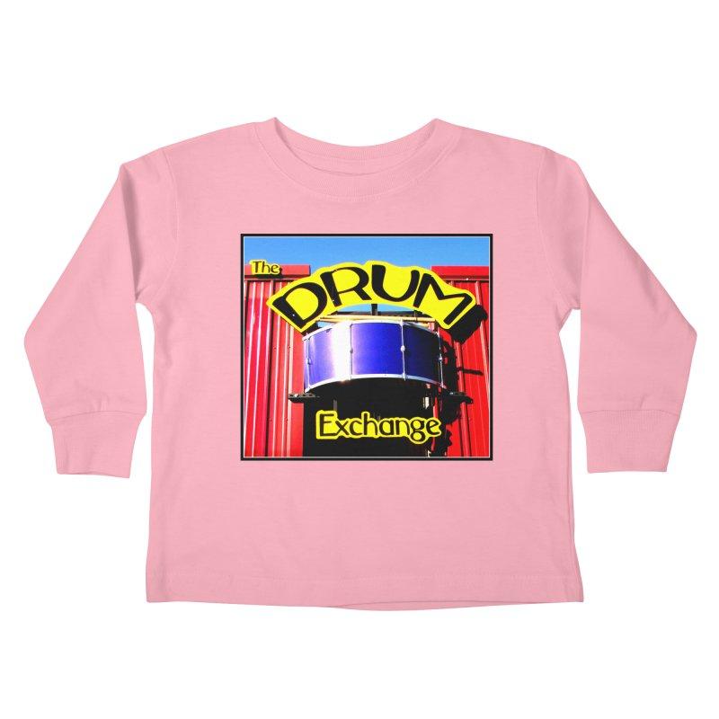 Drum Exchange Sign Kids Toddler Longsleeve T-Shirt by EdHartmanMusic Swag Shop!