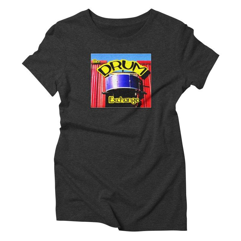 Drum Exchange Sign Women's Triblend T-Shirt by EdHartmanMusic Swag Shop!