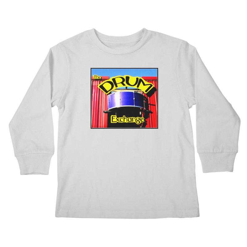 Drum Exchange Sign Kids Longsleeve T-Shirt by EdHartmanMusic Swag Shop!
