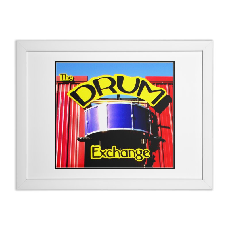 Drum Exchange Sign Home Framed Fine Art Print by EdHartmanMusic Swag Shop!